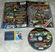 Mint Playable DEMO for Conker: Live & Reloaded Xbox Super Fast Shipping!!
