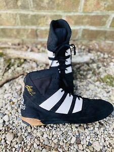Adidas Adistar Wrestling Shoes Black Rare Size 15 Kendall Cross