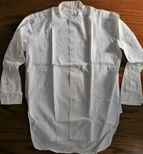 Vintage 1930s tunic shirt size 15.5 Y&R Wyanar 2 available UNUSED collarless VGC