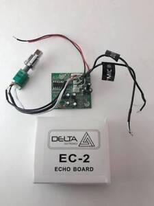 "DELTA EC2 CB ECHO BOARD TURBO ECHO PROFESSIONAL IC for CB HAM RADIO 2"" x 2"" SIZE"