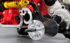 Tamiya 1/10 Monster Beetle Blackfoot Frog Pair Aluminum Rear Wheel Hub Adapter
