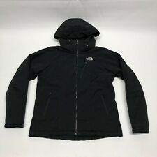 The North Face Black Hooded Primaloft Jacket Women's Large Quilted Winter Coat