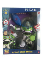 NEW Toy Story Disney Pixar Buzz Lightyear Ultimate Space Ranger 25th Anniversary