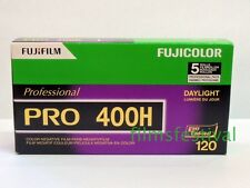 5 rolls FUJI Pro 400H 120 Color Film Medium Format