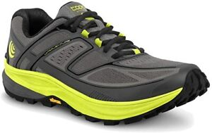 TOPO Athletic Men's Ultraventure Trail Running Shoes, Grey/Green, 13 D(M) US