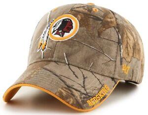 Washington Redskins NFL '47 MVP RealTree Camo Frost Hat Cap Adult Men Adjustable