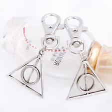 1pcs Hot Movie Harry Potter Deathly Hallows Mini Metal Tool Key Chain Gift