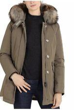 woolrich john rich & bross fur trim luxury arctic parka Sz Small