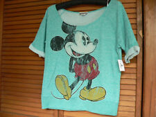 Mickey Mouse Disney Parks Disneyland Walt Disney World T-Shirt Size S Small Nwt