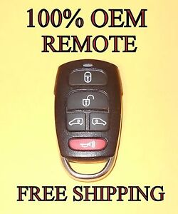 KeylessOption Keyless Entry Remote Control Car Key Fob Alarm for Hyundai Entorage 2007-2009 Kia Sedona 2008-2014