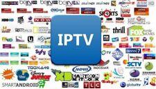 IPTV 12 mois Chaines FHD/HD+VOD;100% Garantie, livraison rapide smart tv-m3u-Mag