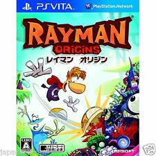 Used PS Vita Rayman: Origins  SONY PLAYSTATION JAPANESE IMPORT