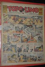 TOPOLINO GIORNALE-  N°331  -ANNO 8° DEL 1939- MONDADORI-CON LE QUATTRO REGINE