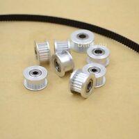 1pcs GT2 Timing Pulley Bearing Idler 20T 3/5mm Bore FOR 6mm Belt Reprap 3D CNC