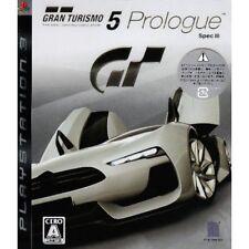 New PS3 Gran Turismo 5 Prologue Spec III Japan Import