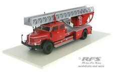 Feuerwehr mit Drehleiter - Krupp L100 Leiterwagen DL52 - Berlin - 1:43 Altaya