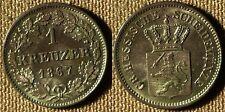 Germany States : Hesse-Darmstadt 1867  1 Kr   CH.UNC  # 339   IR2377