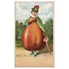Bufford's Fruit Cards No. 779-1 Deco FRIDGE MAGNET, 1887 Pear How do I a'Pear?