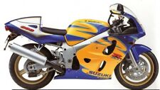 SUZUKI TOUCH UP PAINT KIT GSXR600 ALSTARE MOON SHADOW BLUE AND CANYON YELLOW