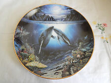 Moonlit Moment Plate Underwater Paradise By Robert Nelson Coa