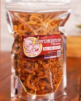 Crispy Pork mix Chili Onion Garlic Fried tasty spicy Thai Snack Savory Food Meal