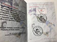 2017 Folder Passaporto Filatelico Italfil 2017 Annullo Sistema Informazione Rep
