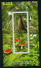 Mushroom - FLY AGARIC - MNH Souvenir Sheet of 2 Cat 2461 CANADA 2011