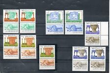 Israel Archaeology Series 1986-90 Phosphor Tab Varieties 10 Different MNH!!