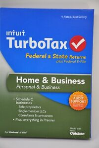 TurboTax 2013 Home & Business Personal & Business Federal & State CD