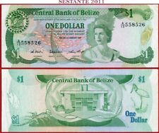 BELIZE  -  1  DOLLAR  1.1. 1987   -   P 46c  -  BB++ / VF