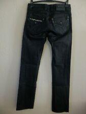 """KAPORAL 5 - Jean, Pantalon """" Clark """" - Enduit Noir - Taille 29us / 39fr"""