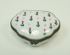 Limoges France Hand-Painted Trinket Box