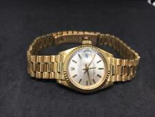 Authentic Rolex Ref 6917 18K Solid Yellow Gold Ladies Datejust President