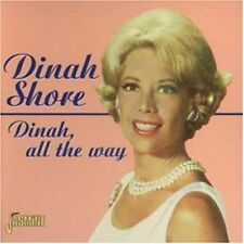 Dinah All The Way - Dinah Shore (1998, CD NEUF)