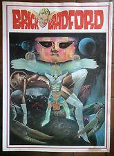 BRICK BRADFORD tavole domenicali a colori collana gertie daily 121 comic art