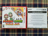 Mario & Luigi Paper Jam - Authentic - Nintendo 3DS - Case / Box Only!