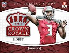 2015 Crown Royale Football - PARALLEL - INSERT - MATERIAL - Pick Your Card -