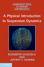 A Physical Introduction to Suspension Dynamics