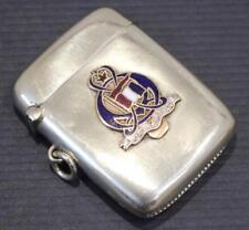 ALLAN LINE RMS CORSICAN SOUVENIR MATCH SAFE VESTA CASE