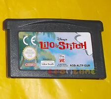 DISNEY'S LILO & STITCH Game Boy Advance Gba Versione Europea ○ SOLO CARTUCCIA AQ
