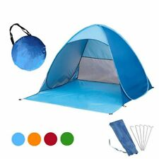 Camping Tent Automatic Quick Opening Instant Pop Up Portable Outdoors Beach Roof
