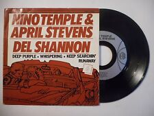 45t PORT 0€ ▓ NINE TEMPLE ET APRIL STEVENS : DEEP PURPLE / WHISPERING