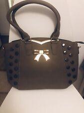 Ladies Light Brown Shopper Fashion Bag With Strap Shoulder Bag