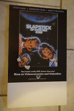 Jerry Lewis Feldman Slapstick of Another Kind video promo counter card standee