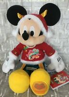 Disney Parks Shanghai Resort Lunar New Year Of The Ox 2021 Mickey Mouse Plush