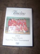 Timeline Memories Toys for Tots Tracy Storm- Tracy, CA DVDs in Excellent Shape