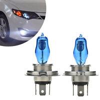 2x H4 Headlight Globes Car Light Bulbs 6000K 100/90W 12V Xenon Super White ZY