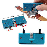 Adjustable Watch Repair Tool Kit Cover Remover Back Case Opener Screw Wrench