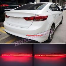 For Hyundai Elantra 2017-2018LED Rear Bumper Fog Light/Brake Warning/Turn Signal