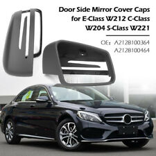 TOP Quality Gray Mirror Cover For Mercedes-Benz W204 W212 C207 W117 W218 Unpaint